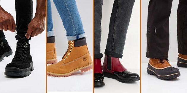 Самая модная мужская обувь 2018 года: 9 вариантов на любую погоду