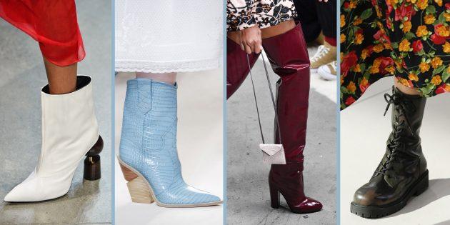 Самая модная женская обувь 2018 года: 9 беспроигрышных вариантов