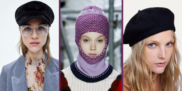 10 самых модных шапок и других головных уборов для женщин и мужчин