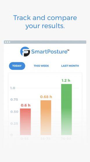 исправление осанки: SmartPosture