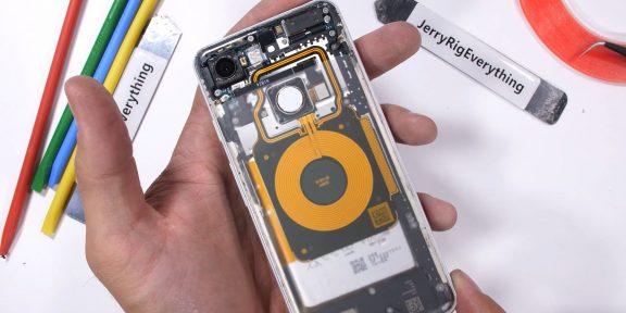 Видео дня: прозрачный Pixel 3 своими руками