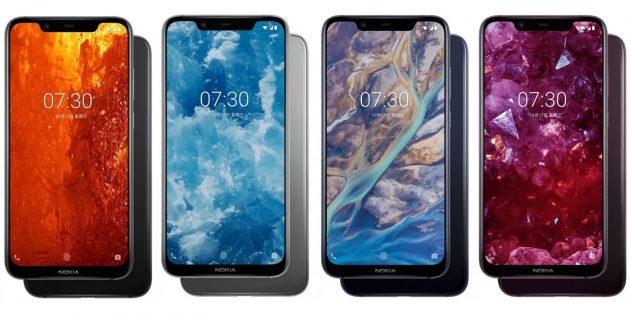 Nokia X7: цвета корпуса