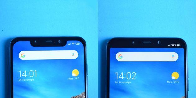 обзор Xiaomi Pocophone F1: Монобровь