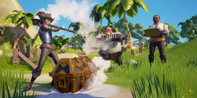 Игры про пиратов: Sea of Thieves