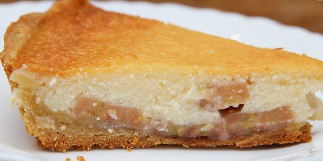 Банановые пироги: Бананово-творожный пирог