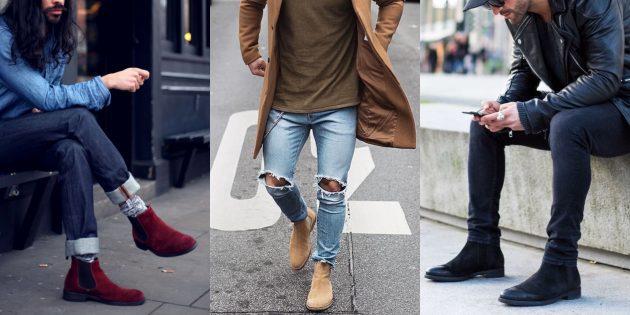 Модная мужская обувь осени-зимы 2018/2019: Ботинки челси