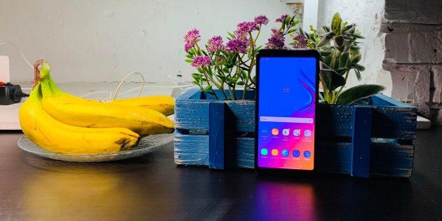 Обзор Galaxy A7 (2018) —первого смартфона от Samsung с тройной камерой