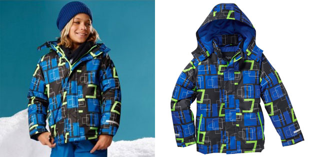 Детская лыжная куртка
