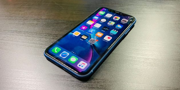 Обзор iPhone XR: дисплей