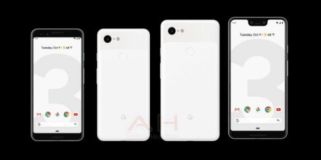 Pixel 3 и Pixel 3 XL