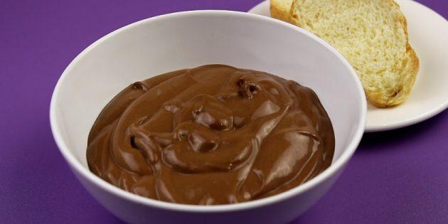 Рецепт: Шоколадная паста с молоком и какао