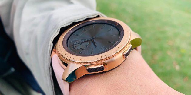 Обзор Galaxy Watch: Управление