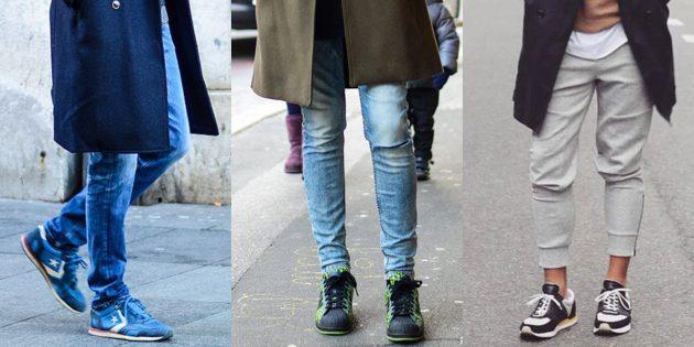 Модная мужская обувь осени-зимы 2018/2019: Утеплённые кроссовки