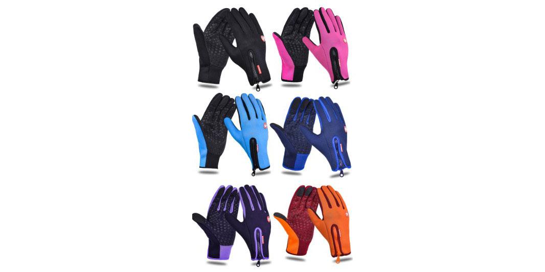 Лыжные сенсорные перчатки