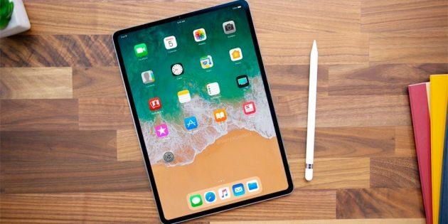 iPad Pro 2018: Безрамочный экран