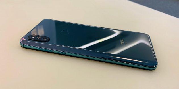 Обзор Xiaomi Mi Mix 3: Задняя панель
