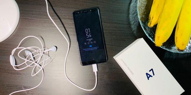 Samsung Galaxy A7: Общий вид