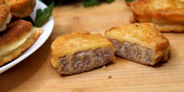 Что приготовить из фарша: Мясные рулетики с сыром в кляре