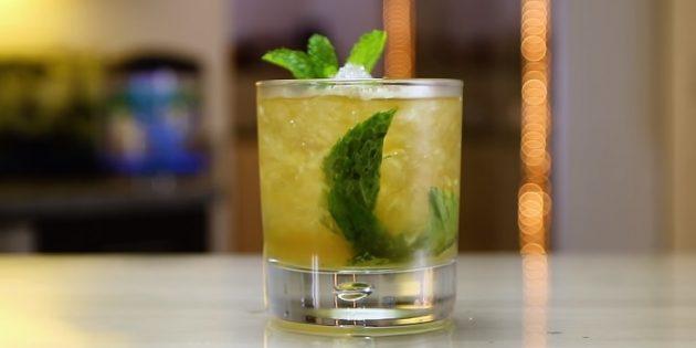 Коктейли с виски: Мятный джулеп