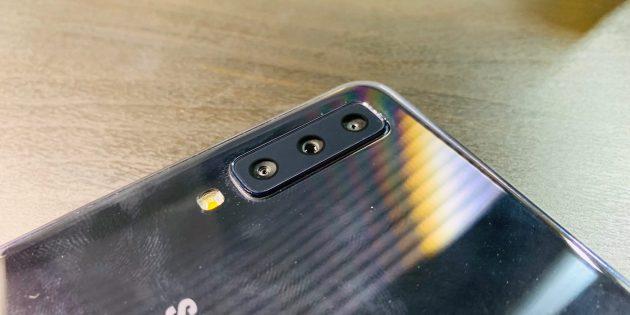 Samsung Galaxy A7: Камера