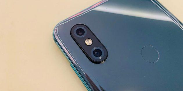 Обзор Xiaomi Mi Mix 3: Модуль камеры
