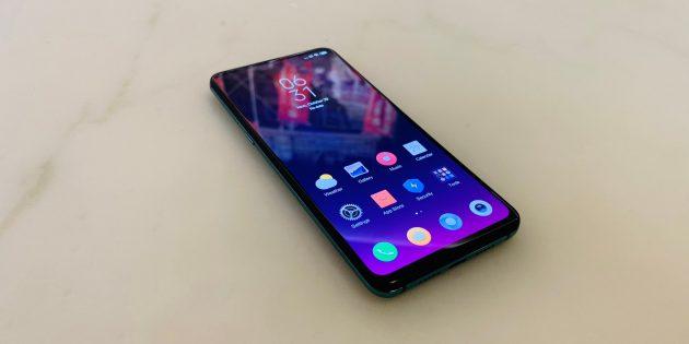 Xiaomi Mi Mix 3: Экран и нижняя рамка