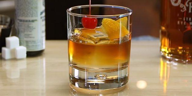 Коктейли с виски: Олд фешен