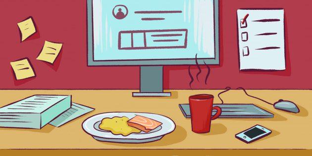 готовые обеды: Не обедайте на рабочем месте