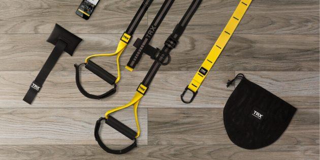 Тренажёры для дома: петли для функционального тренинга TRX
