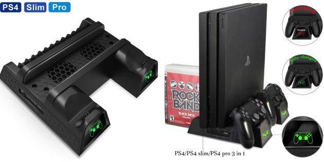 Охлаждающая подставка для PlayStation