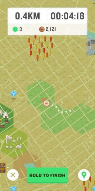 Приложение для iOS и Android: Начало игры