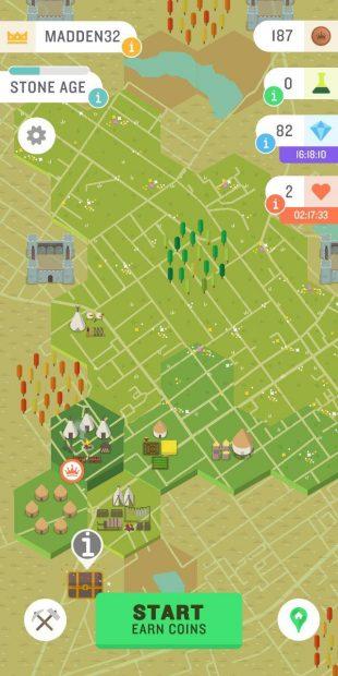 Приложение для iOS и Android: Захват земель