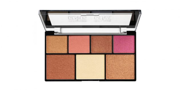 Strobe of Genius Palette Warm