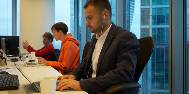 Михаил Осин: Рабочее место