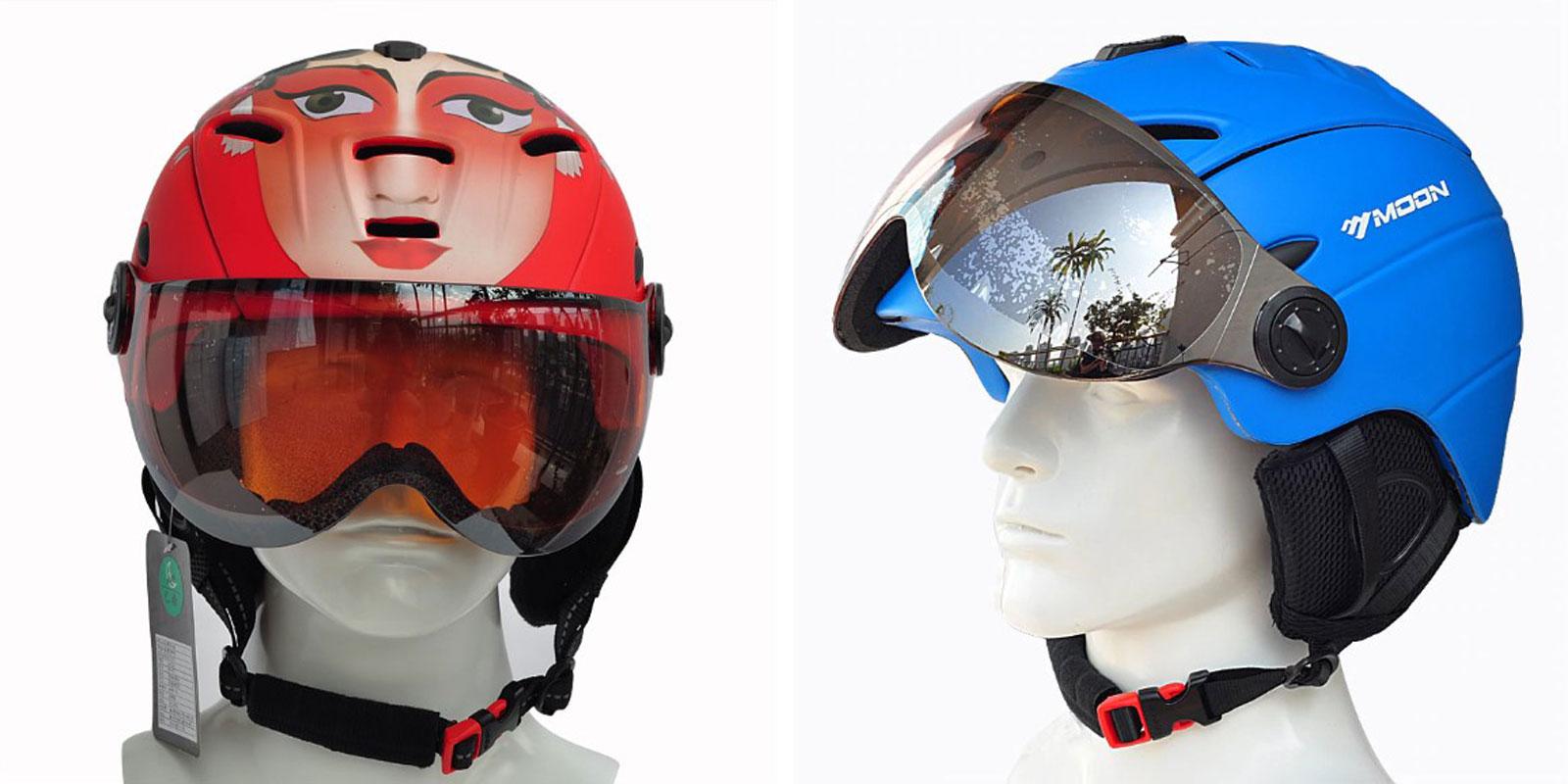 Шлем с очками