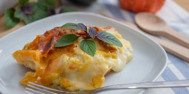 Картофельная запеканка с тыквой: простой рецепт