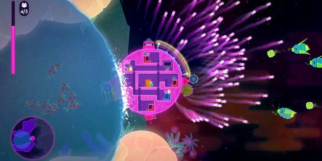 Онлайн-игры с друзьями: Lovers in a Dangerous Spacetime