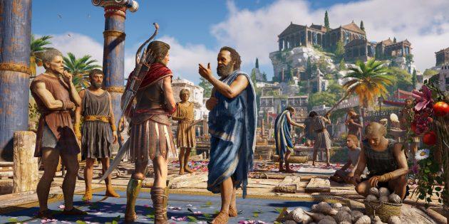 Assassin's Creed: Odyssey: Режим «Исследование»