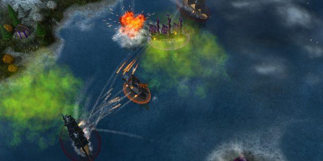 Игры про пиратов: Windward