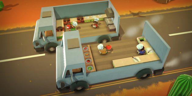Онлайн-игры с друзьями: Overcooked