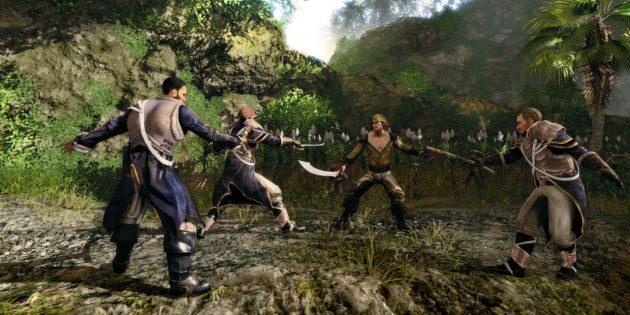 Игры про пиратов: Risen 2: Dark Waters