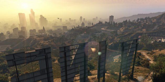 Лучшие игры с открытым миром: Grand Theft Auto V
