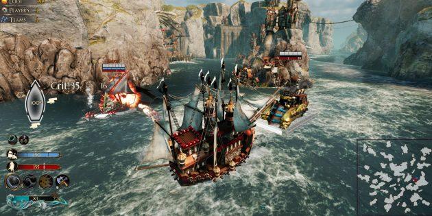 Игры про пиратов: Maelstrom