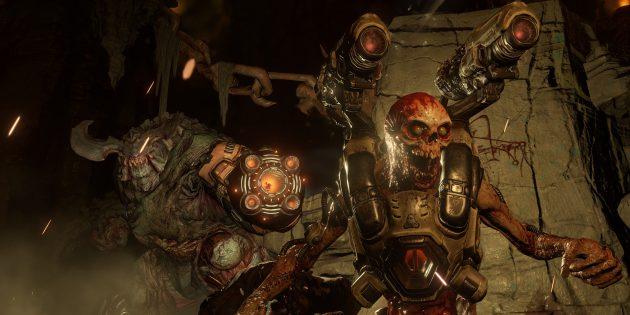 лучшие игры на ПК: Doom (2016)