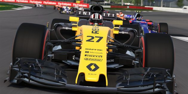 Лучшие гонки на ПК: F1 2017