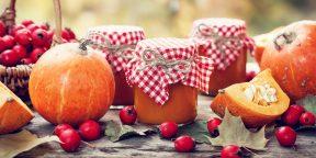 6 рецептов красивого варенья из тыквы
