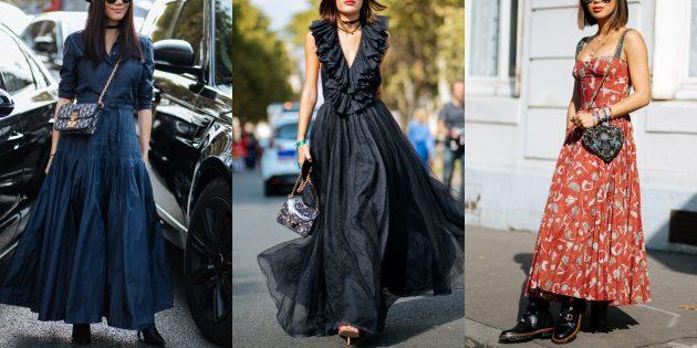 Модные платья в стиле вестерн