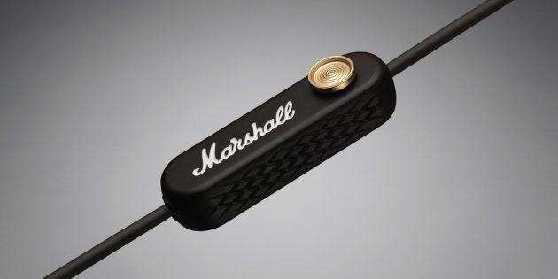 Marshall Minor II Bluetooth: Джойстик