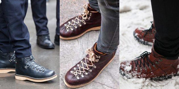 Самая модная мужская обувь 2018 года  9 вариантов на любую погоду ... 5850f90ebbc8a