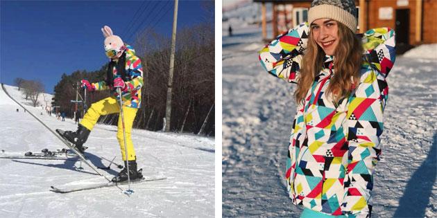 Ещё один женский лыжный костюм